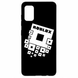 Чехол для Samsung A41 Roblox logos