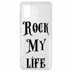 Чехол для Samsung A41 Rock my life