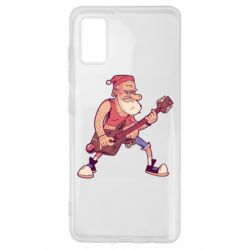 Чохол для Samsung A41 Rock'n'roll Santa