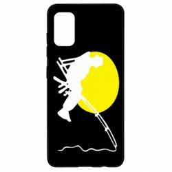 Чехол для Samsung A41 Рыбак
