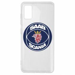 Чехол для Samsung A41 SAAB Scania
