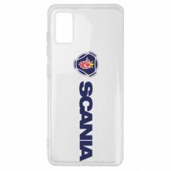 Чохол для Samsung A41 Scania Logo
