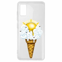 Чохол для Samsung A41 Sea ice cream
