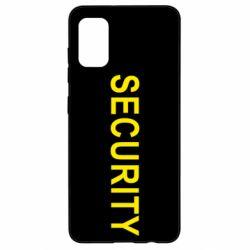 Чехол для Samsung A41 Security
