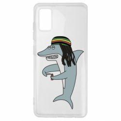 Чохол для Samsung A41 Shark Rastaman