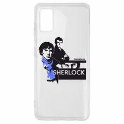 Чехол для Samsung A41 Sherlock (Шерлок Холмс)