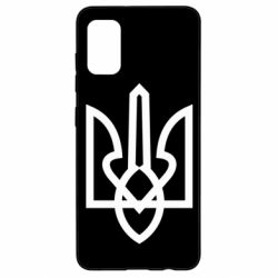 Чехол для Samsung A41 Simple coat of arms with sharp corners