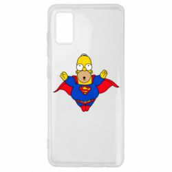 Чехол для Samsung A41 Simpson superman