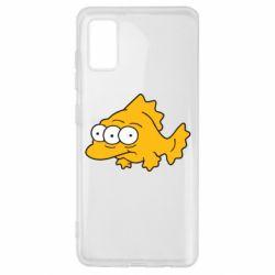 Чехол для Samsung A41 Simpsons three eyed fish