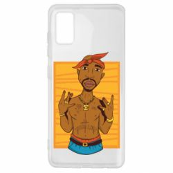 Чохол для Samsung A41 Singer Tupac Shakur