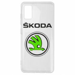 Чехол для Samsung A41 Skoda Bird
