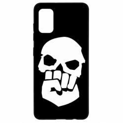 Чехол для Samsung A41 Skull and Fist