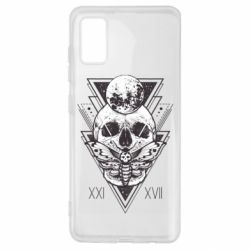 Чохол для Samsung A41 Skull with insect