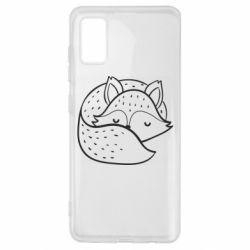 Чохол для Samsung A41 Sleeping fox