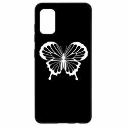 Чехол для Samsung A41 Soft butterfly