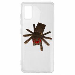 Чехол для Samsung A41 Spider from Minecraft