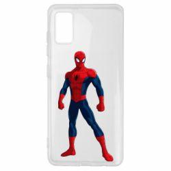 Чохол для Samsung A41 Spiderman in costume