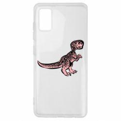 Чохол для Samsung A41 Spotted baby dinosaur