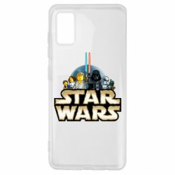Чохол для Samsung A41 Star Wars Lego