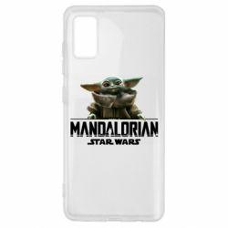Чехол для Samsung A41 Star Wars Yoda beby
