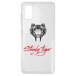 Чохол для Samsung A41 Steady tiger