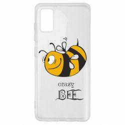 Чехол для Samsung A41 Сумасшедшая пчелка