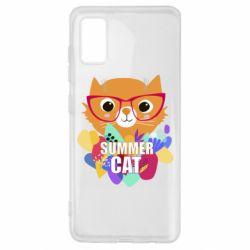 Чохол для Samsung A41 Summer cat