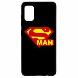 Чехол для Samsung A41 Super Man