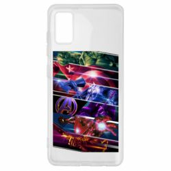 Чехол для Samsung A41 Super power avengers