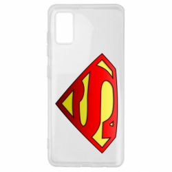 Чехол для Samsung A41 Superman Logo