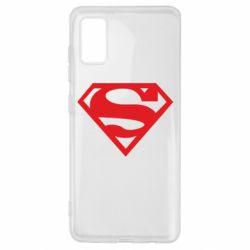 Чехол для Samsung A41 Superman одноцветный