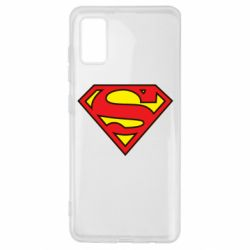 Чехол для Samsung A41 Superman Symbol