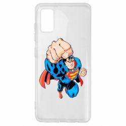 Чохол для Samsung A41 Супермен Комікс
