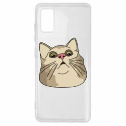 Чехол для Samsung A41 Surprised cat