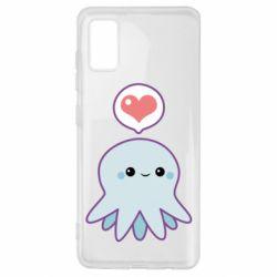 Чехол для Samsung A41 Sweet Octopus