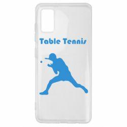 Чохол для Samsung A41 Table Tennis Logo