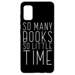 Чохол для Samsung A41 Так багато книг так мало часу