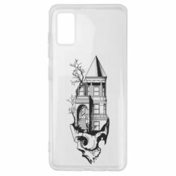 Чохол для Samsung A41 The castle is on the skull