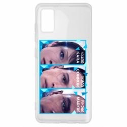 Чохол для Samsung A41 The faces of androids game Detroit: Become human