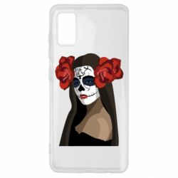 Чохол для Samsung A41 The girl in the image of the day of the dead