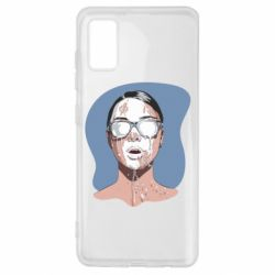 Чохол для Samsung A41 The girl is doused with milk