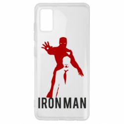 Чехол для Samsung A41 The Invincible Iron Man