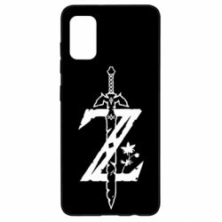 Чехол для Samsung A41 The Legend of Zelda Logo
