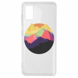 Чехол для Samsung A41 The mountains Art