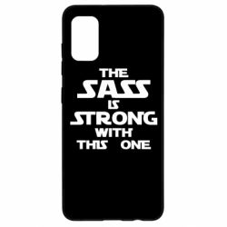 Чохол для Samsung A41 The sass is strong with this one