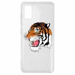 Чохол для Samsung A41 Tiger roars