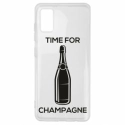 Чохол для Samsung A41 Time for champagne