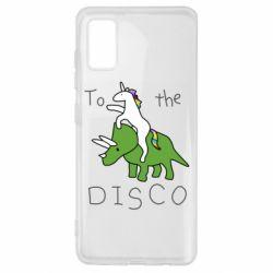 Чохол для Samsung A41 To the disco
