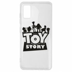 Чехол для Samsung A41 Toy Story and heroes