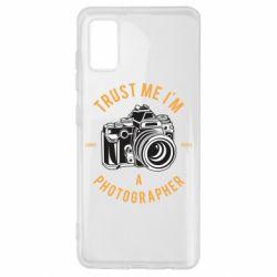 Чохол для Samsung A41 Trust me i'm photographer